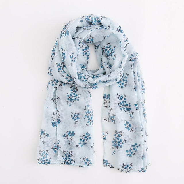 Women's Fashion Flower Pattern Scarves Scarf National style