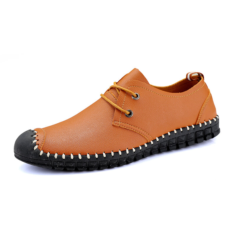 Men_Anti_Smash_Hand_Stitching_Lace_Up_Soft_Sole_Casual_Leather_Shoes