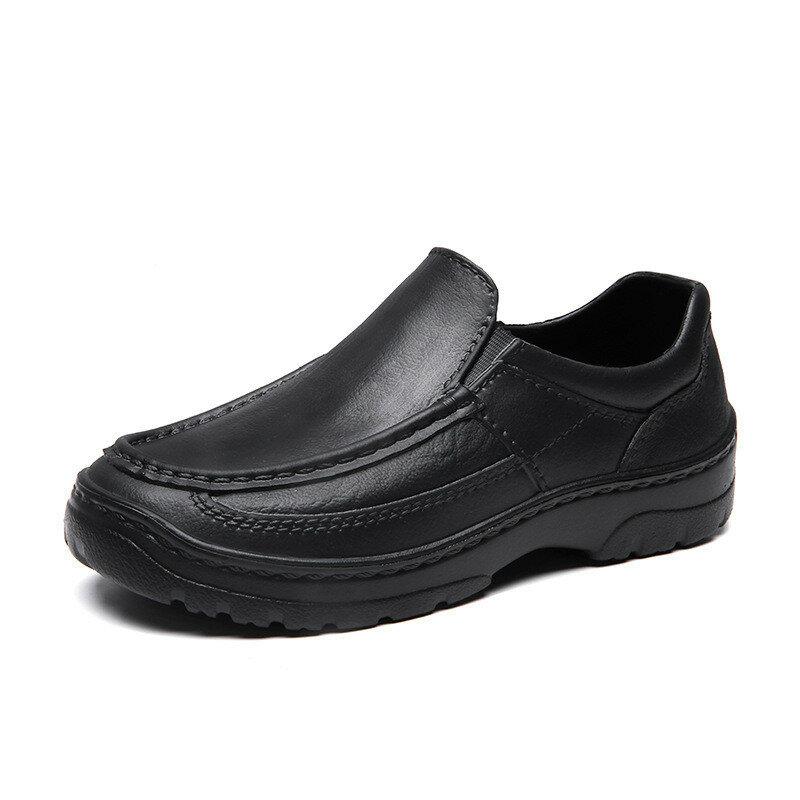 Men Waterproof EVA Light Weight Anti Slip Casual Chef Shoes