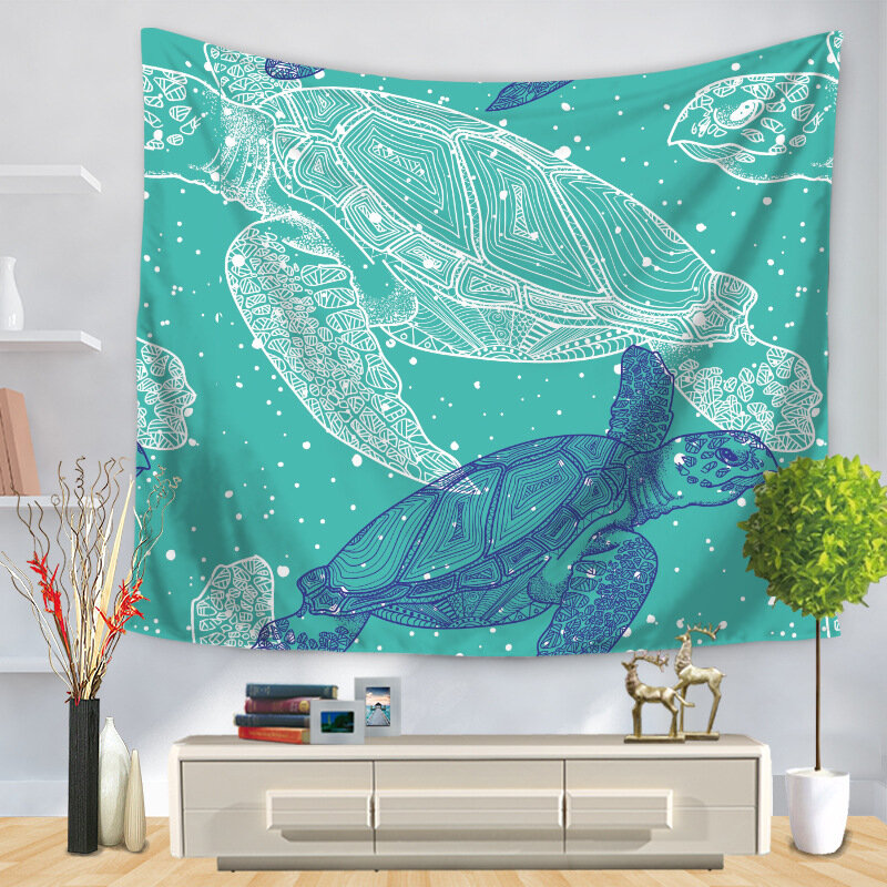INS_Style_Blue_Sea_Turtle_Printed_Wall_Hanging_Tapestries_Home_Living_Room_Art_Decor_Table_Cover