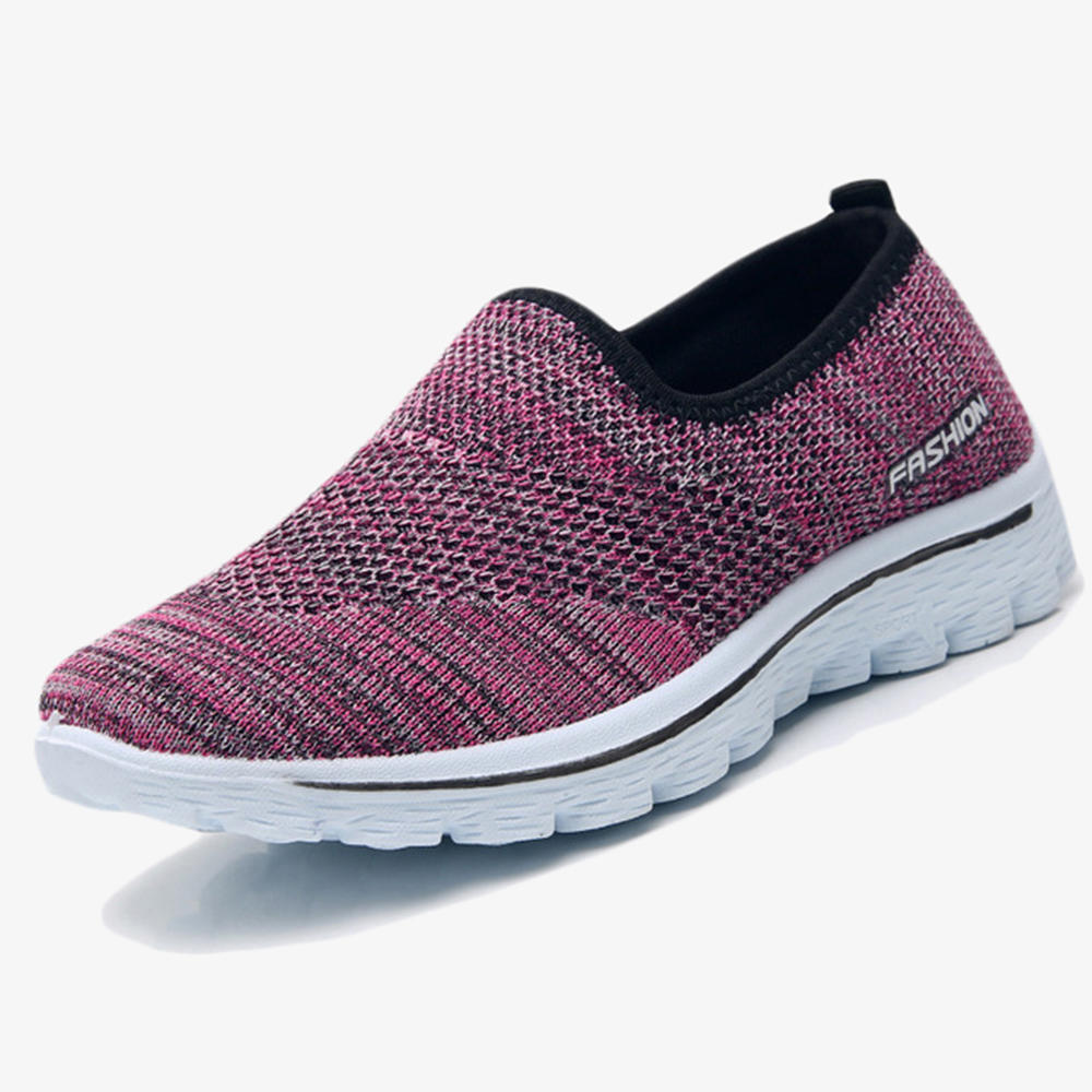 Mesh Slip On Comfortable Walking Casual Flat Shoes