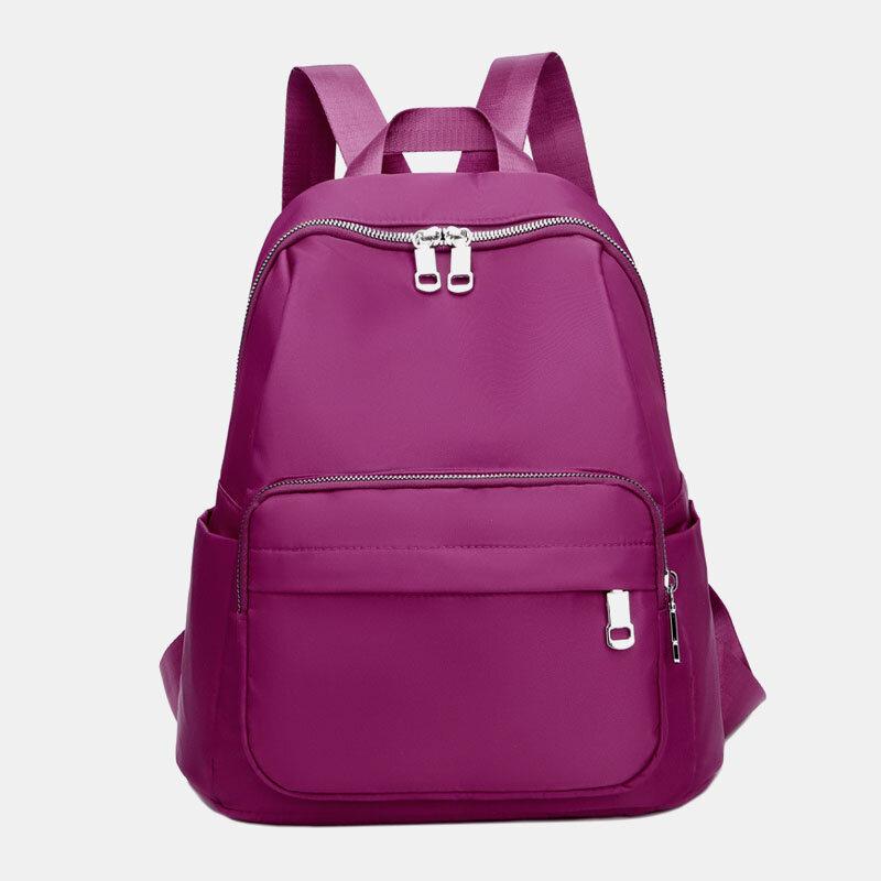 حقيبة ظهر كاجوال للنساء Nylon ضد للماء