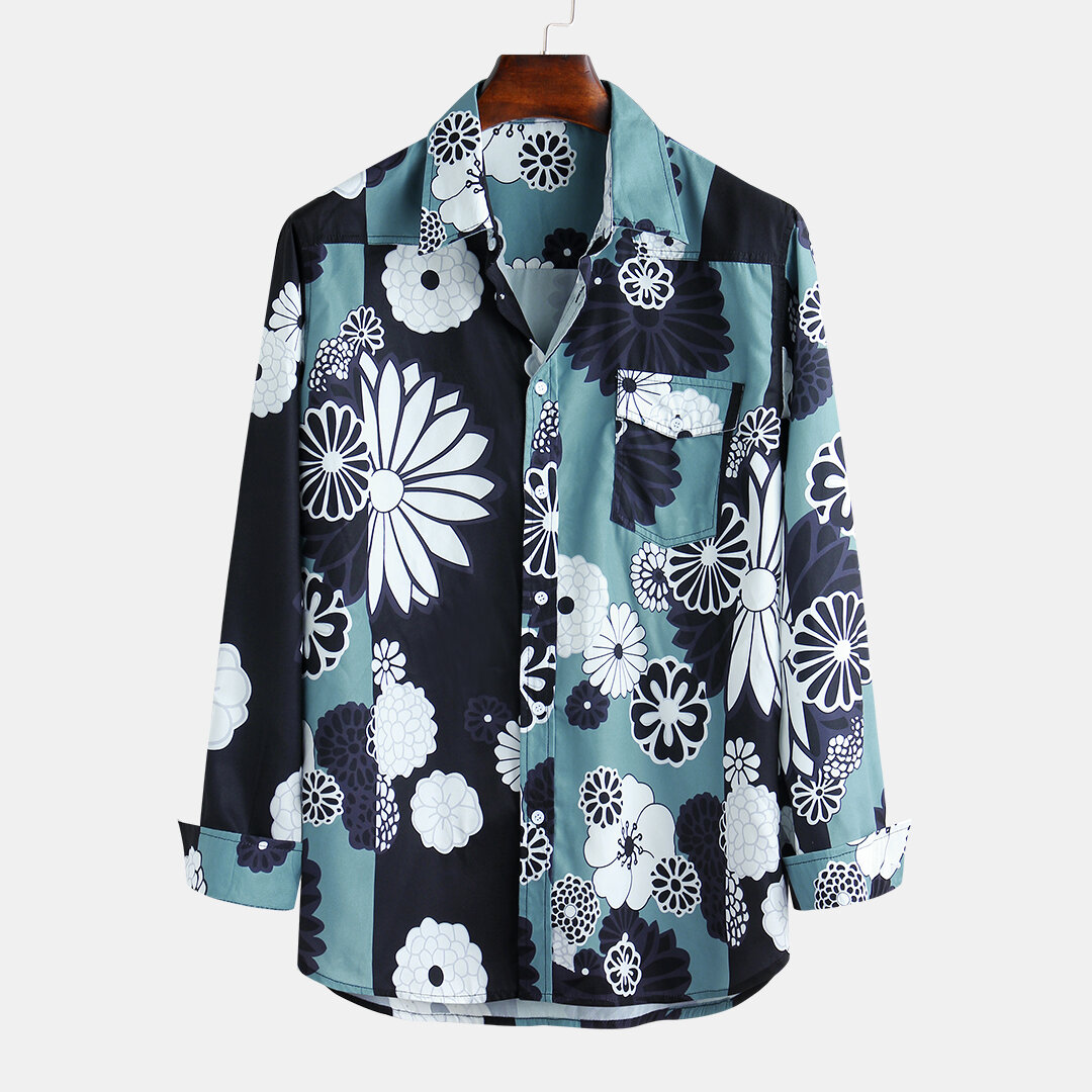 Mens_Big_Floral_Printed_Turn_DownCollar_Long_Sleeve_Shirts
