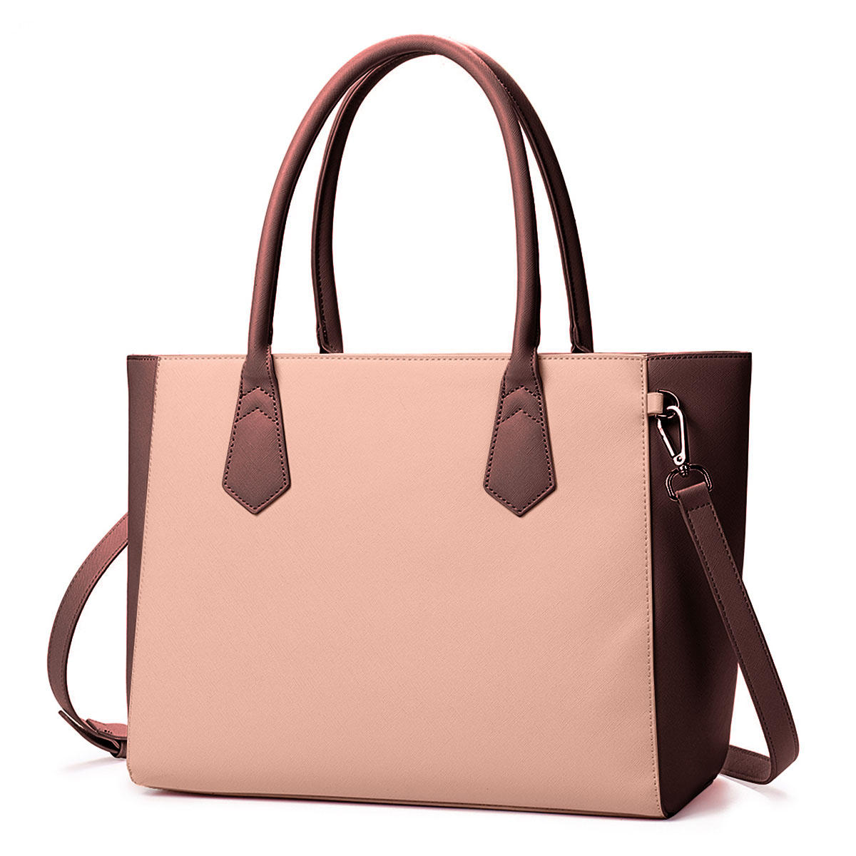 QUEENIE Women Casual Shopping Multifunction Patchwork Shoulder Bag