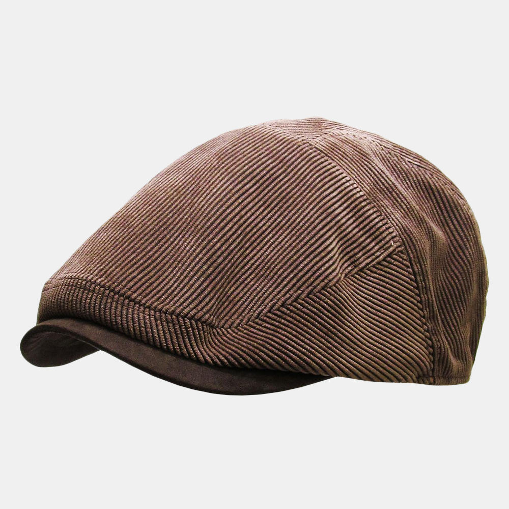 Mens Corduroy Flat Caps
