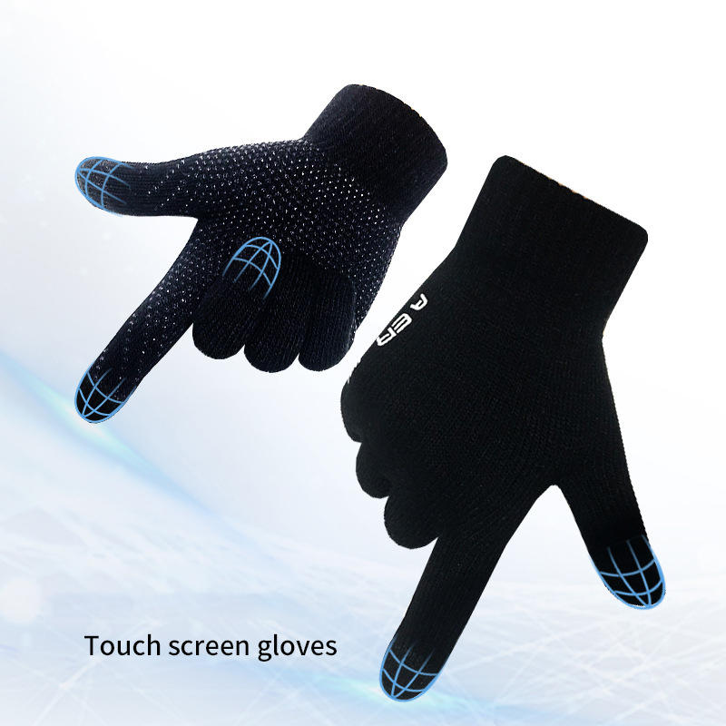 Touch screen Gloves Warm Knitted Cut-resistant Gloves