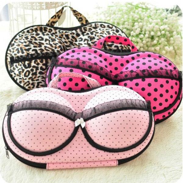 Large Capacity Creative Bra Underwear Storage Box Travel  Portable Organizer Bags 32cm