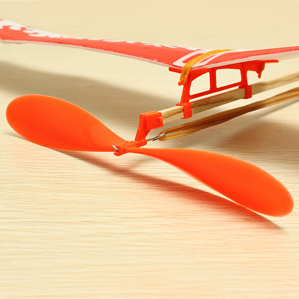 Thunderbird Teenagers Aviation Model Planes Creative DIY Model Powered By Rubber Band Fun Toys