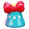 Bow-Knot Bell Squishy Jumbo Slow Rising Мягкая игрушечная коллекция подарков с упаковкой