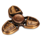 EDC Fidget Hand Tri-spinner Gadget Spinner Finger Reduce Stress Gadget Stress Reliever - Gold