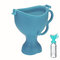 Portable Children Urinal Toddler Standing Potty Pee Pot Camping Car Travel Emergency Toilet - Blue