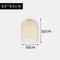 Transparent Clothing Dust Cover Coat Suit Dust Bag Cover Storage Bag - S