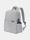 SLR Photography Backpack Double-layer Leisure Business Computer Backpack USB Multifunctional Digital Camera Bag - Gray White