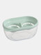 Kitchen Double Grid Egg Separator Eco Friendly Egg Yolk Divider Tools Kichen Accessories Tools Cooking - Green