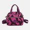 Women Nylon Waterproof Casual Handbag Crossbody Bag - #08