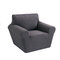 1/2/3 seaters Elastic Universal Sofa Cover Knitted Thicken Stretch Slipcovers for Living Room Couch Cover Armchair Cover - Grey