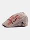पुरुषों के पत्र कढ़ाई आकस्मिक फैशन Sunvisor फ्लैट टोपी आगे टोपी टोपी टोपी - हाकी