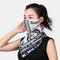 Floral Breathable Printing Masks Neck Protection Sunscreen Ear-mounted Scarf  - 03