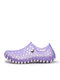 Women Summer Large Size Couples Hollow Out Garden Shoes Comfy Breathable Slip On Casual Beach Sandals - Purple