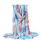 Женский многоцветный плед шить шарф Длинная женская кисточка тонкая шаль