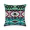 <US Instock> Mandala Indian Bohemian Cotton Linen Cushion Cover Home Decor Square Pillowcase - #03