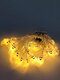 10/20/40/50 Leds Ghost Party Lamp String Lights Ghost Pattern Decorative Energy-Saving Plastic Scary Ambience Halloween Light Cosplay Prop - #1