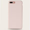 Phone Case Pink Cute Solid Color Simple Type For iPhone