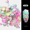 8 Color Luminous Crystal Mixed Size Nail Art Rhinestone Decorations 3D Manicure Glitter Diamond Jewelly - 08