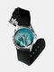 Casual Colored Landscape Printed Men Watch Marble Pattern Women Quartz Watch - #04