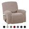 أغطية كرسي كرسي عالية التمدد شاملة كليًا ضد للماء غطاء أريكة مضاد للانزلاق قابل للغسل واقي أثاث 7 ألوان - الكاكي