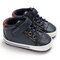 Baby Toddler Shoes Non Slip Soft Hook Loop Casual Shoes - Blue