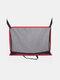 車の収納バッグネットポケットハンドバッグホルダーシートバック折りたたみ収納ハンギングバッグ - 赤