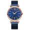 Elegant Design Mesh Steel Women Wristwatch Crystal Ladies Quartz Watch - 02