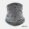 Ice Silk Sunscreen Turban Triangle Scarf Breathable Sunscreen Riding Mask - Gray