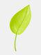 Plástico Planta Dispositivo de riego de drenaje con formas creativas Hoja Riego directo Planta Root Keeping Greenly Nutrition Riego herramienta - Verde