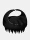 Hair Scalp Massager Shampoo Brushes Remove Dandruff Promote Hair Growth Shampoo Brush - Black