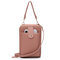 Women Double Sided Multifunction Clutch Bag Phone Bag Crossbody Bag