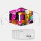 7つのマスクのガスケットが付いている対照的なパターンポリエステル方法防塵マスク - #02