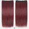 26 цветов длинные прямые Волосы удлинители 5 зажимов ложные Волосы шт. Высокотемпературное волокно Парик - 21 год