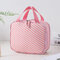 Double-layer large-capacity Portable Cosmetic Bag With Mirror