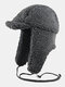 Men & Women Cold-proof Winter Trapper Hat Thick Winter Hat Ear Protection Trapper Hat - Gray