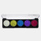 5 Colors Glitter Powder Sequin Eyeshadow Palette Pearlescent Makeup Glitter Pigment Smoky Eye Shadow - 3