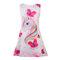Unicorn Butterfly Pattern Girls Sleeveless Dress For 4-13Years