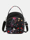 Women Waterproof Multi-carry Bohemia Elephant Print Handbag Crossbody Bag Backpack - #05