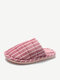 Women Comfy Warm Non Slip Home Slippers - Pink