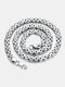 Vintage Stainless Steel Clavicle Chain Necklaces - Silver