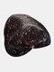 Chapeau de seau de protection solaire de bord surdimensionné d'impression de motif floral de dacron de femmes - Noir