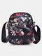 Women Oxford Calico Floral Pattern Printed Crossbody Bag Shoulder Bag Mini Phone Bag - 4