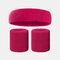 15 colori Soft Set di fascia per lo sport con fascia da polso per asciugamano Set di fascia per la fascia assorbente da sudore per sport sportivo - 17