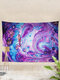 Metal Abstract Wind Halo Dyeing Tapestry Art Home Decoration Living Room Bedroom Decoration - #01
